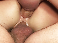 Hot Thin Stepmoms Very First Dual Penetration