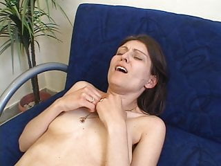 mistress spanked MILF hard stripped by angry naked blonde
