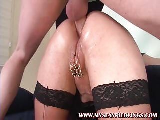 Piercings milf marina with anal drill...