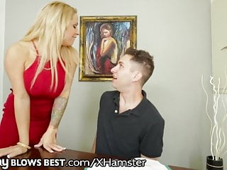 MommyBlowsBest Step Son Seduced by Big Titty Step Mom