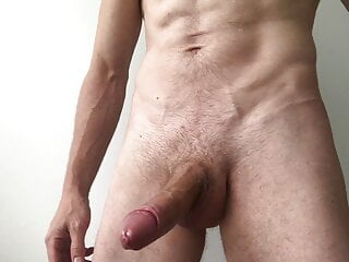 Epic handjob for the perfect cock!!! Huge load Horny as fuck