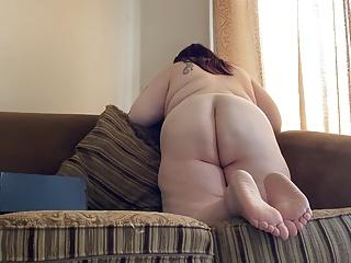 Ariesbbw juicy fat slomo ass...