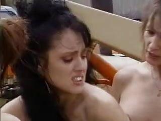 Jeanna Fine Lesbian Threesome
