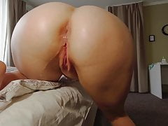 Perfect Ass Takes A Dildo And Flows