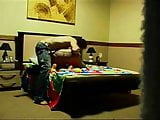 Amatuer couple fucking in doggy style in their bedroom