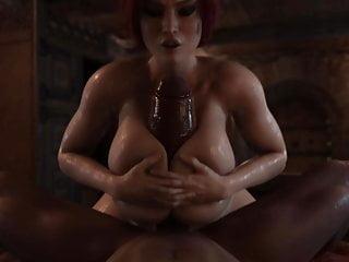 Triss dick by rigid3d...