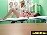 Real patient fingered by nurse during exam