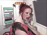 Bbw Nadia-Obese in the kitchen!Pre