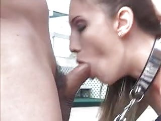 Skinny Whore Double Penetration in Tight Ass