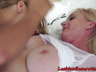 Busty mature oral pleasuring...