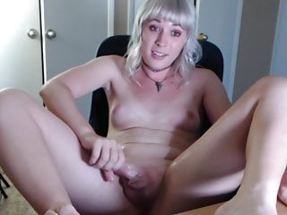 out! hard cums TGirl she passes so