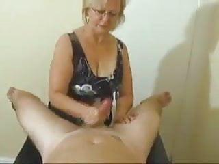 Jerking cock...