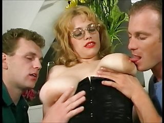 Ugly and busty russian prostitute picked up the...