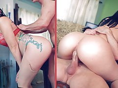 ANAL Teen Mandy Muse Fuck in the ASS by her StepDad