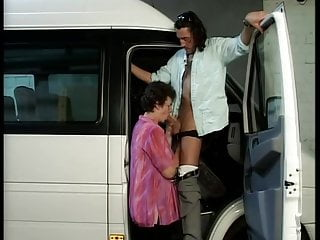 the does bus Grandma driver