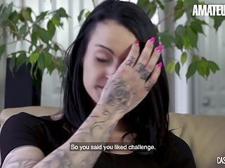 CASTING FRANCAIS - Hot MILF Tynna Got Drilled By Muscle Stud