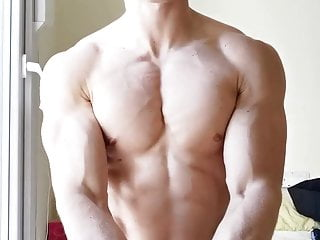 Irish lad after his workout