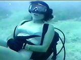 Grey One Piece Scuba Diver