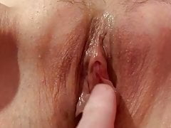 My wife pissing for me part 2