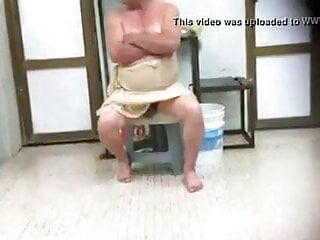 Grandpas at the sauna