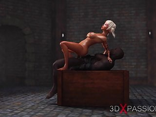Hot schoolgirl gets fucked hard by black man in the dungeon
