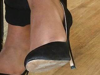 Candid feet and heels at work #20