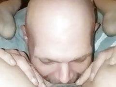 Eating that pussy like a good husband should