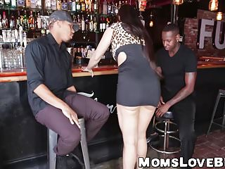 Big milf hammered hard by strong bbcs...