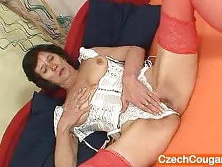 Naked grannie cuddly corset...