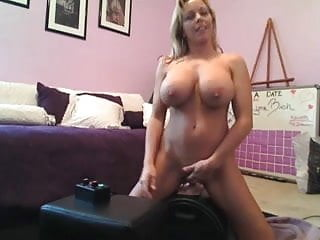 Amber Lynn Bach on Webcam with Sybian