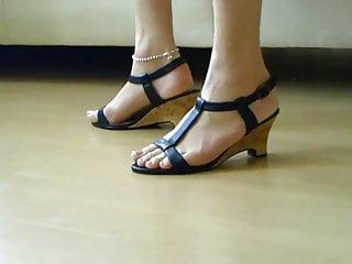 The feet of my tranny slave ayse 2...