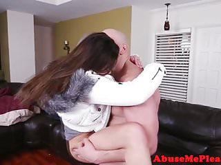 Amateur roughly plowed...