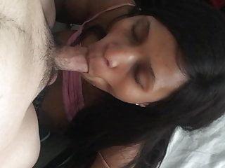 cum shot on African cucks wife