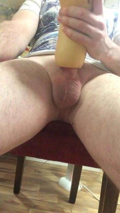 Stroking Hard Black Dick