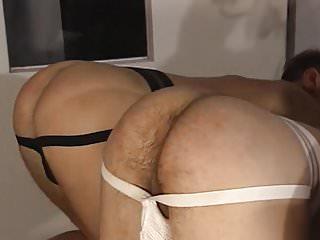 Rim job eating licking ass butt gang bang...