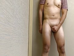 jerking and shooting cum in the ice and vending machine roomPorn Videos