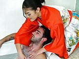 Kendra Spade does special massage