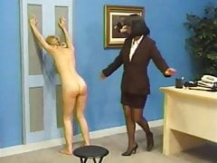 Shaved, humiliated and spanked