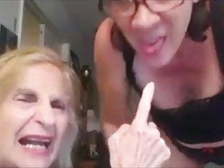 Granny wants your love gun...