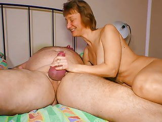 Amateureuro sexy horny granny tease with her hubby...