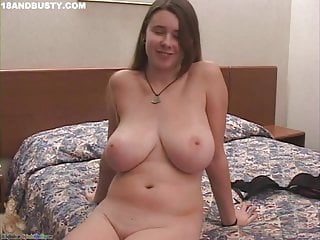 Teen Big Tits American video: Ana