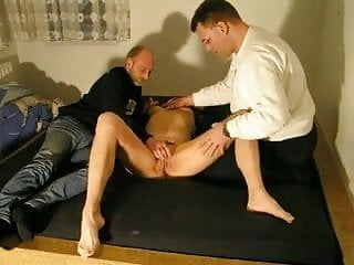 Amateur mmf threesome mture with a friend...