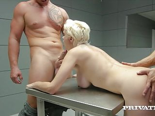Private busty hacker mila milan arrested amp...