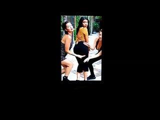 Youtuber Nikki Limo's ass cum tribute 17