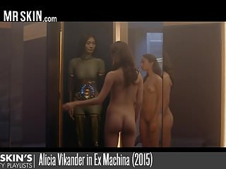 Celebs from westworld get naked and fuck robots...