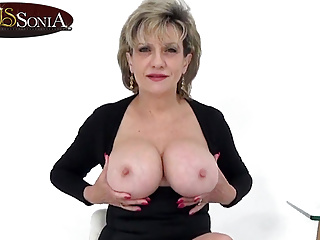 Aunt sonia invites you over after catching you...