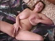 Busty Teen Rubs Tit & Pussy