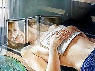 Sensual Erotic  Art of  Francine Van Hove