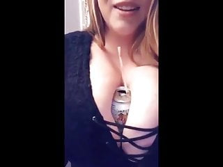 huge tits, bra and purse