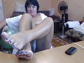 Brunette Milf Webcam video: Russian Mom Webcam